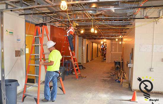 بازسازی برق ساختمان